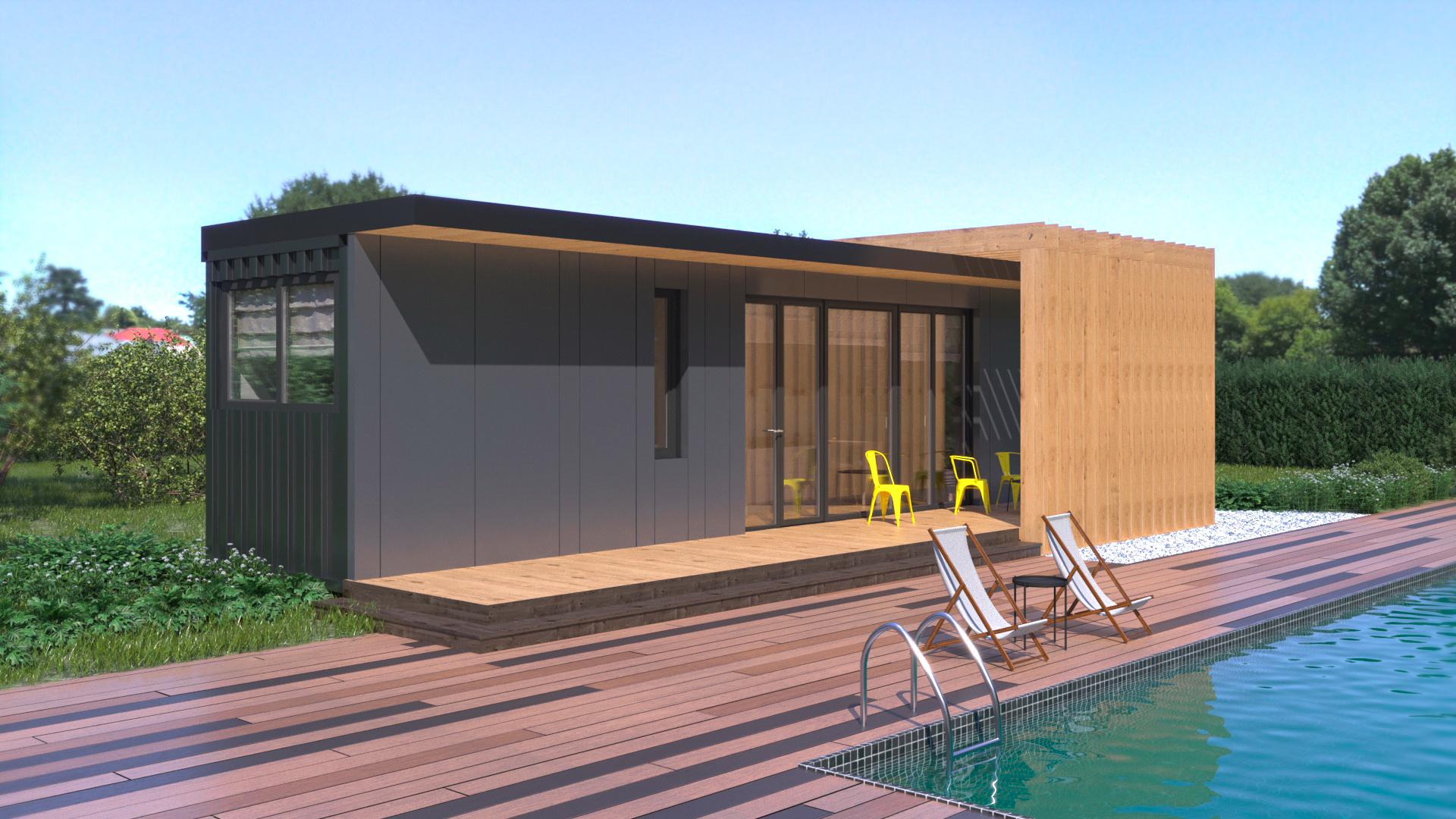 Házak:Modern ház 30 - fénykép №2
