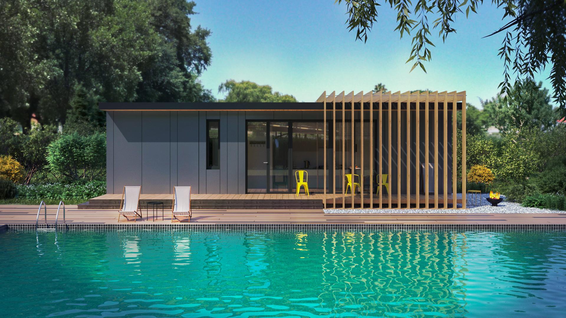 Házak:Modern ház 30 - fénykép №3