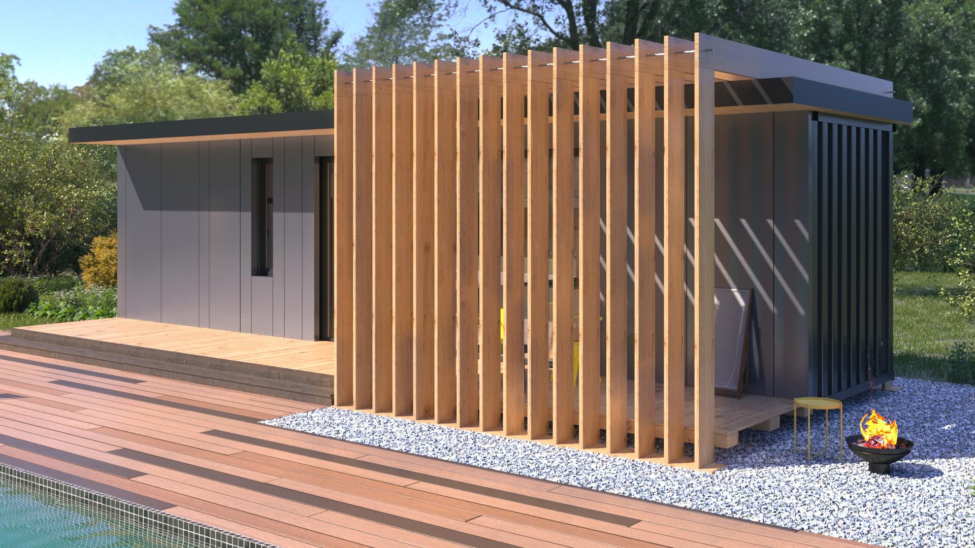 Házak:Modern ház 30 - fénykép №4