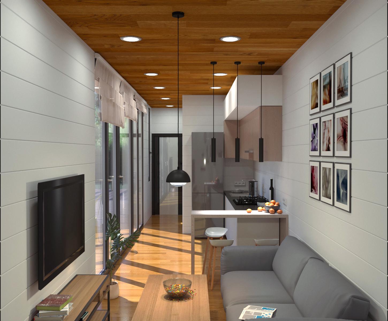 Házak:Modern ház 30 - fénykép №1