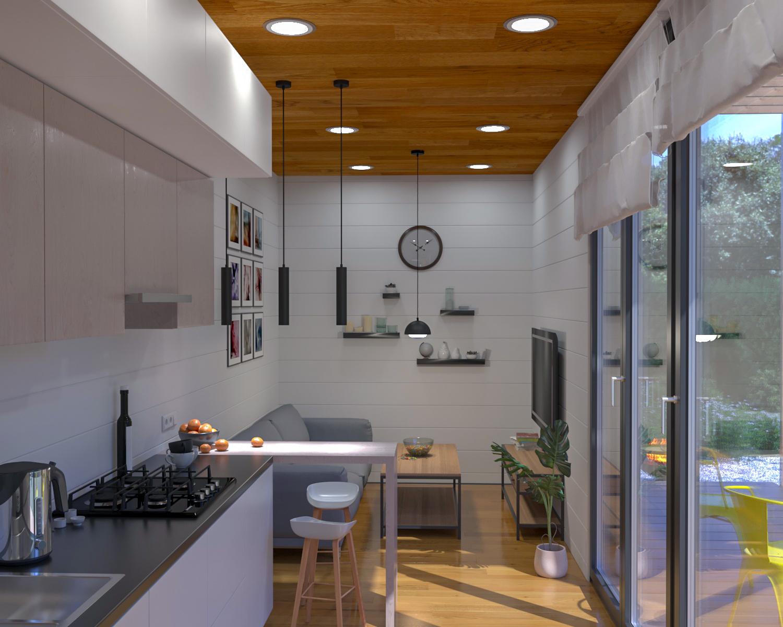 Házak:Modern ház 30 - fénykép №8