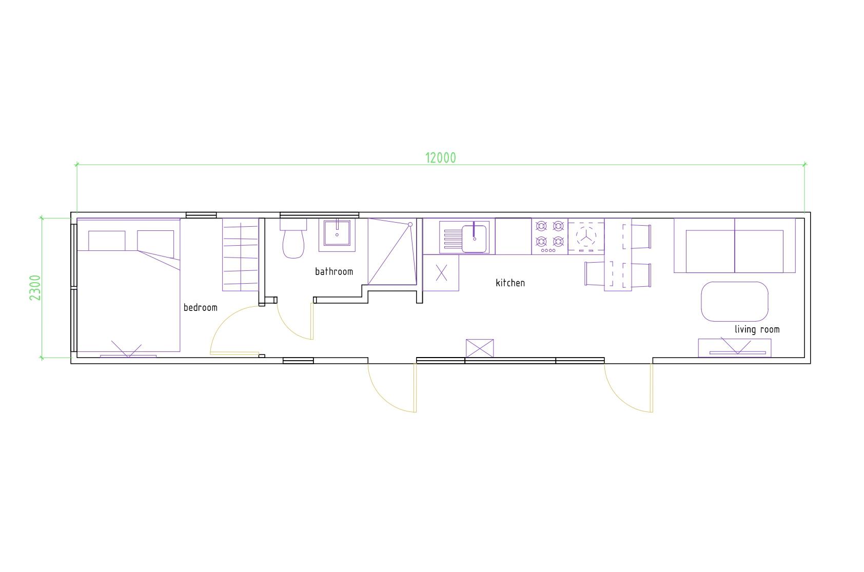 Modern ház 30 - fénykép №1-1